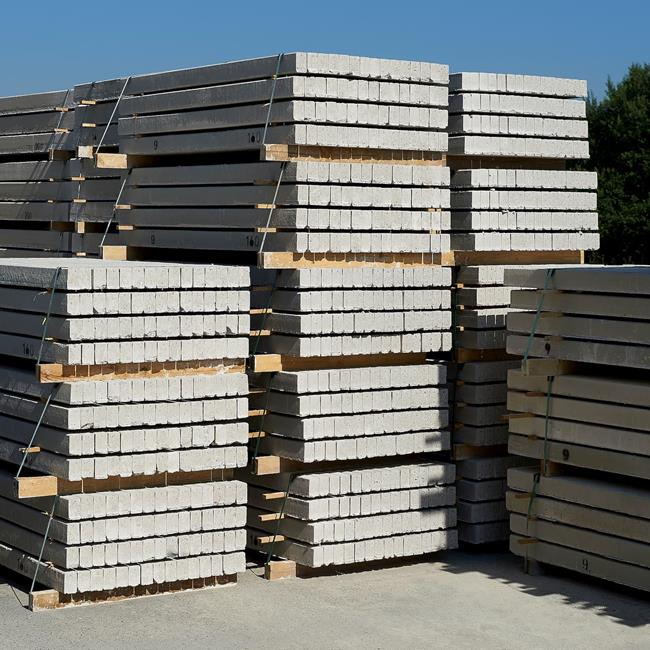 Our pre-stressed concrete products